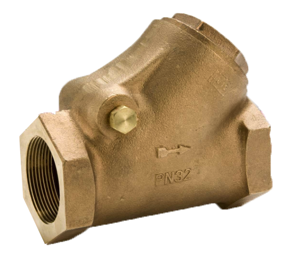 VALV. CHECK SWING BRONCE 200PSI MOD.D142